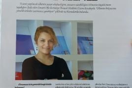 Kırtasiye sektörünün en önemli dergisi olan Frekans, Smart Ofis İhracat Müdürü Gizem Kocabıyık ile Dış Ticaret üzerine güzel bir söyleşi gerçekleştirdi.