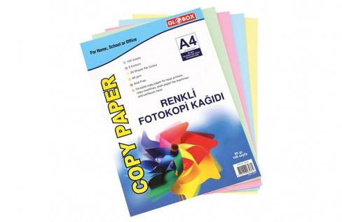 Renkli Fotokopi Kağıdı 100'lü