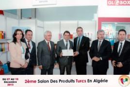 Smart Ofis A.Ş. Cezayir 2. Türk Ürünleri Fuarı'nda.