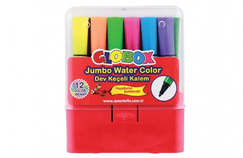 Dev Keçeli Kalem 12 Renk